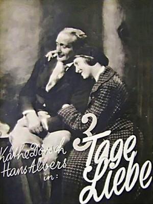 Drei Tage Liebe 1931