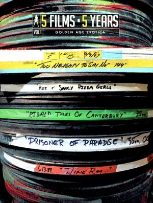 Vinegar Syndrome's 5 Films 5 Years: Volume 1 - Golden Age Erotica