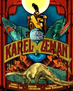 Three Fantastic Journeys by Karel Zeman