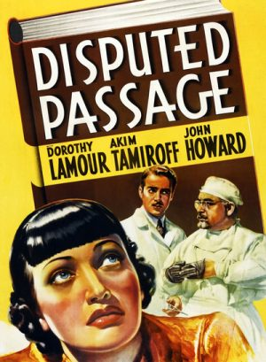 Disputed Passage 1939